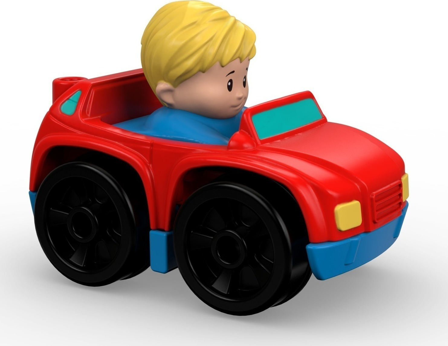 fisher price little people wheelies suv red car. Black Bedroom Furniture Sets. Home Design Ideas