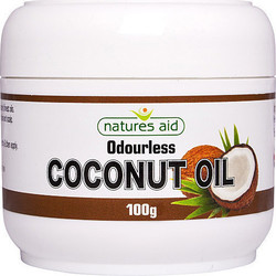 Natures Aid Coconut Oil Άοσμο 100gr Καρύδα
