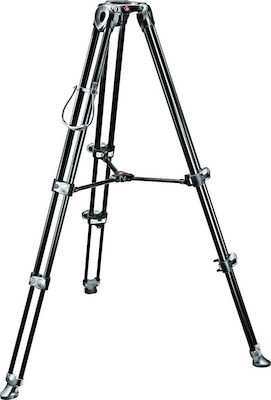Manfrotto Telescopic Twin Leg Video Tripod w/ 60mm Adapter MVT502AM