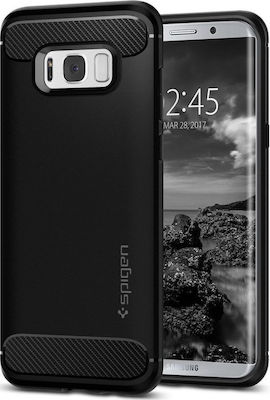 Spigen Back Cover Ultra Rugged Armor Μαύρο (Galaxy S8)