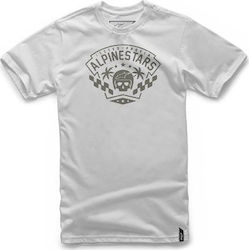 T-SHIRT ALPINESTARS FIRST ORDER - ΜΑΥΡΟ/ΑΣΗΜΙ
