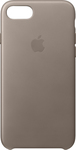 Apple Leather Case Taupe (iPhone 7)