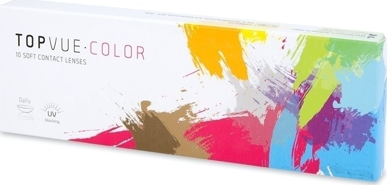 15b0932892 Προσθήκη στα αγαπημένα menu TopVue Color Daily Διοπτρικοί  Έγχρωμοι