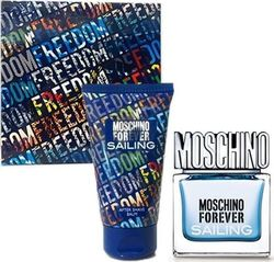 Moschino Forever Sailing Eau de Toilette 30ml & After Shave Balm 50ml