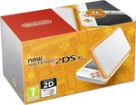 Nintendo 2DS XL White & Orange