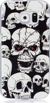 OEM Back Cover Σιλικόνης Luminous Skull (Galaxy J5 2016)