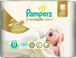 Pampers Premium Care No 0 (1-2,5 kg) 30τμχ