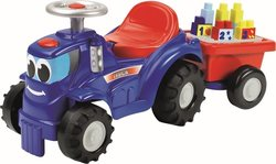 Ecoiffier Abrick Ride-on Tractor &Trailer 7799