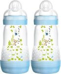 Mam Anti-Colic Double Pack Μπλε Αλεπού 2x260ml