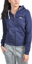 Champion Hooded Full Zip Sweatshirt 105411 Navy