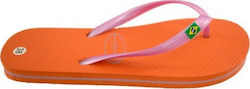 HOT SAND SANDAL 72816 ORANGE ΠΟΡΤ/ΜΩΒ