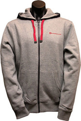 CAT 2910884 ECHO ZIP HOODIE HEATHER GREY