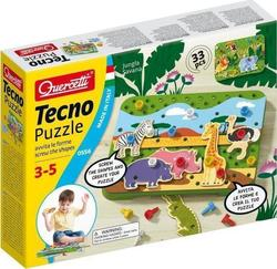 Quercetti Tecno Puzzle: Jungle Savana