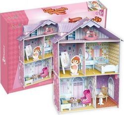 OEM BW Παζλ 3D Little Artist's Doll House 60τμχ