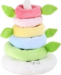 Small Foot Lotta Rainbow Stacking Tower