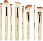 Medium 20181114183640 beauty inc vegan line sculpt blend 8pcs bamboo brush set