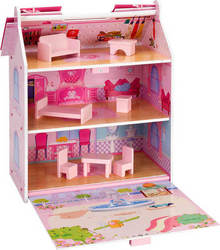 Globo Legnoland Dolls Little House