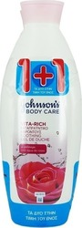Johnson & Johnson Body Care Vita-Rich Ροδόνερο 2x750ml