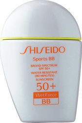 Shiseido Sports BB Broad Spectrum Wetforce Dark SPF50+ 30ml