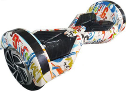 "Smart Balance Wheel HB45 8"" White Graffiti"