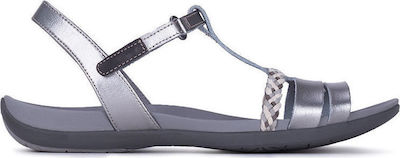 Clarks Tealite Grace Silver Leather