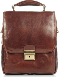 Chiarugi Leather Bags 92611 Brown