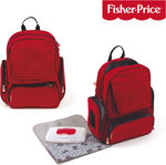 Fisher Price Diaper Backpack Red