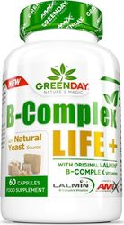 Amix Green Day B-Complex LIFE+ 60 κάψουλες