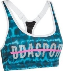 Body Action Racerback Yoga Bra 041738 Blue