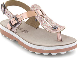 Fantasy Sandals 9005 Rose Gold Caviar