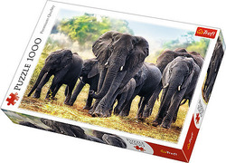 African Elephants 1000pcs (10442) Trefl