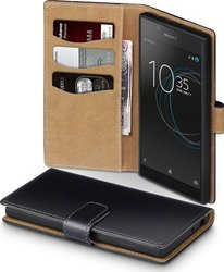 Terrapin Wallet Δερμάτινο Black with Tan Interior (Xperia L1)
