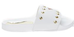 Koniaris Slide Sandals KONIARIS_E4K07882_WHITE