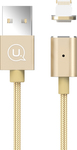 Usams Braided USB to Lightning Cable Χρυσό 1m (US-SJ132)