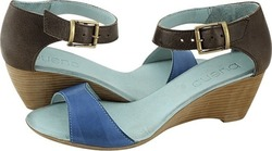 Bueno Shoes Isik Blue/ Brown
