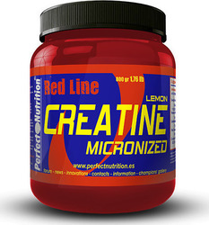 Perfect Nutrition Creatine Micronized Redline 800gr Λεμόνι