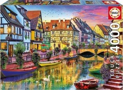 4000 Colmar Canal France 4000pcs (17134) Educa