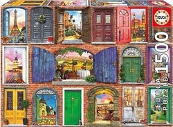 Doors of Europe 1500pcs (17118) Educa