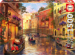 Sunset In Venice 1500pcs (17124) Educa