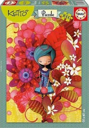 Blue Lady, Ketto 1000pcs (16762) Educa