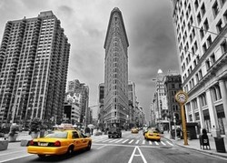 Flatiron Building, New York Coloured Black & White 1000pcs (17111) Educa