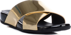 Fitflop AIX™ Leather SlidE Pale Gold