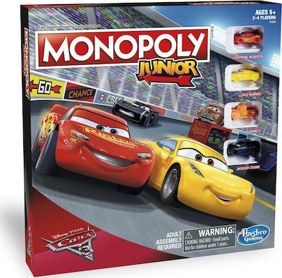 Hasbro Monopoly Cars 3 Junior