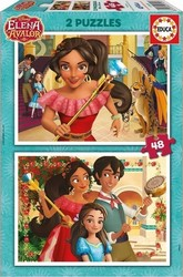Elena of Avalor 2x48pcs (17401) Educa