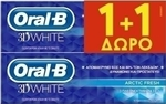 Oral-B 3D White Arctic Fresh 2 x 75ml