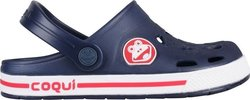 Coqui Clog Froggy 8801 Navy/White
