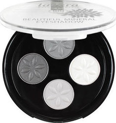 Lavera Mineral Eyeshadow Quattro 1 Smoky Grey