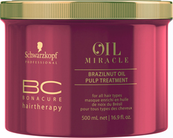 Schwarzkopf BC Bonacure Brazilnut Oil Pulp Treatment Masque for All Hair Types 500ml