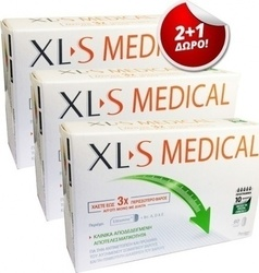 Omega Pharma Xls Medical Fat Binder 2+1 3 x 60 κάψουλες