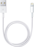 Powertech Regular USB to Lightning Cable Λευκό 1m (CAB-U082)